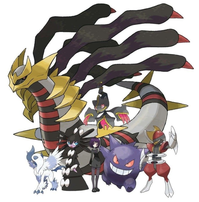cool team gengar giratina etc