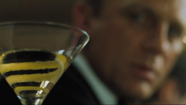 Do Not shake the Martini