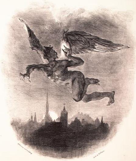 fly over me, evil angel - Faust, Breaking Benjamin